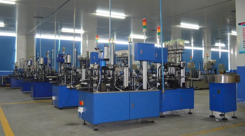 Automatic assembling line