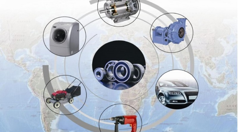 Our product--ball bearing application